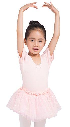 Dancina Leotard Sparkle Tutu Dress Short