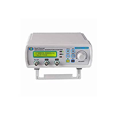 Jingrui MHS5200A 25MHz Digital DDS Dual-channel Signal Source Generator Arbitrary Waveform Frequency Meter 200MSa/s