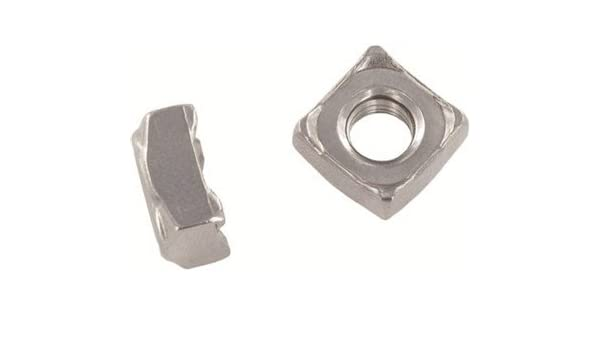 1000pcs ASSP092826 DIN 928 M6 Square Weld Nuts A2 Stainless Steel Ships Free in USA by Aspen Fasteners