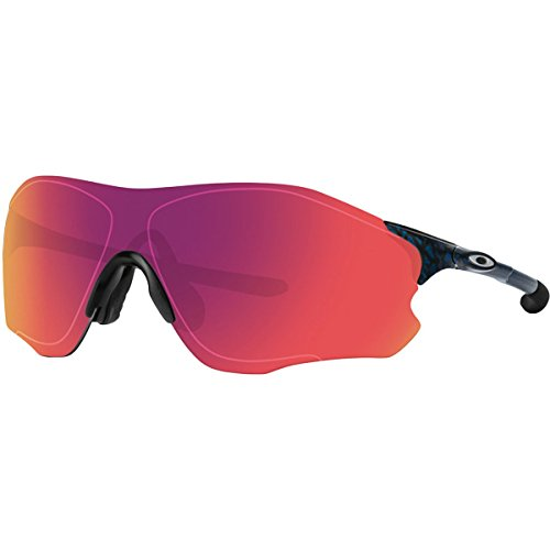 Oakley Men's Evzero Path Non-Polarized Iridium Rectangular Sunglasses, Planet x, 38 - Sunglass Planet