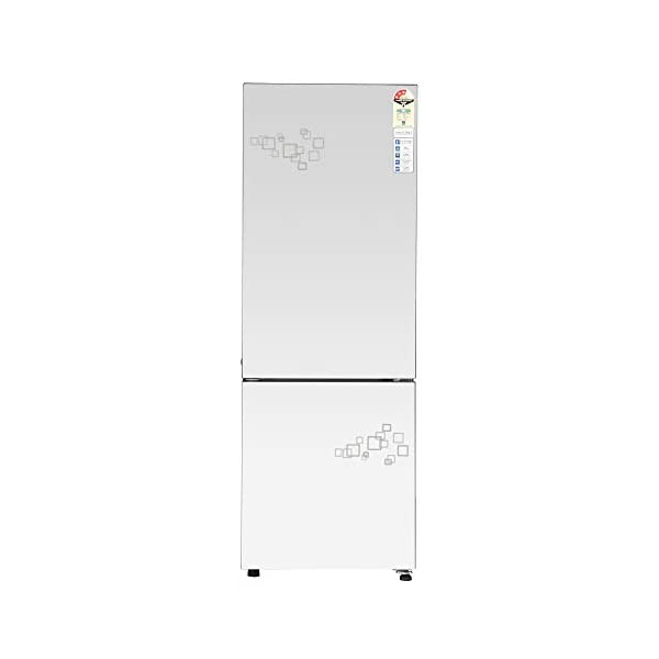 Haier 256 L 3 Star Inverter Frost-Free Double Door Refrigerator (HRB-2764PMG-E, Mirror glass,Convertible) 2021 July Frost-free Double door refrigerator with Twin Inverter Technology-ensures that the compressor & fan can run at different speeds Capacity: 256 litres suitable for a medium sized family Energy rating: 3 star, Annual energy consumption: 180 per year