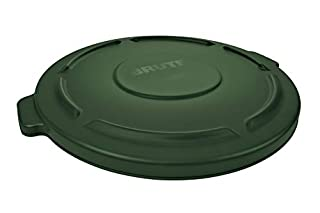 """Rubbermaid Commercial FG264560DGRN Brute Lid, For 2643 Container, 24-1/2"""" Diameter x 1-1/2"""" Height, Green (B00BFKAJG4)   Amazon price tracker / tracking, Amazon price history charts, Amazon price watches, Amazon price drop alerts"""