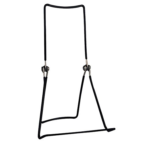 "GIBSON HOLDERS 6 DCWB Adjustable Wire Display Easels - 5.5"" W x 8.75"" H w/ 1.5"" Display Ledge, Black from GIBSON HOLDERS"