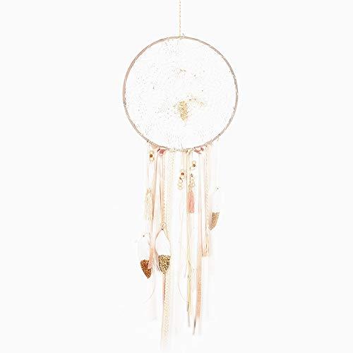 CHICIEVE Boho Wedding Dream Catcher Tassels Wall Hangings Home Decor Ornament ~ Dia 11