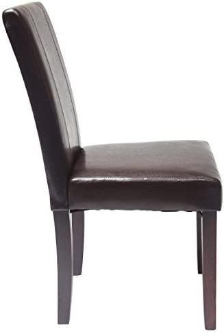home, kitchen, furniture, kitchen, dining room furniture,  chairs 2 picture Roundhill Furniture Urban Style Solid Wood Leatherette Padded in USA