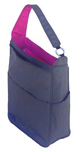 Maggie Mather - Shoulder Bag - Pewter/Fuchsia by Maggie Mather (Image #1)