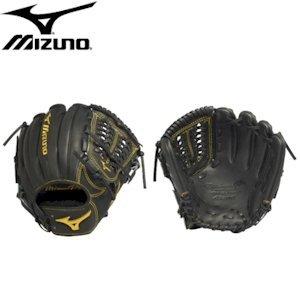 Mizuno GMP650BK Pro Limited Edition Right Handed Throw Baseball Fielders Mitt, Black, 11.50-Inch by Mizuno