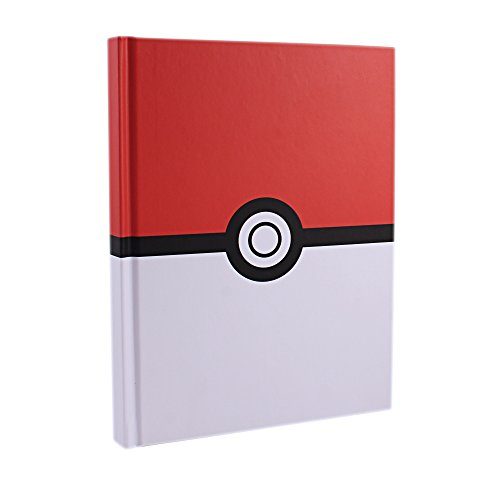 Silver Buffalo Pokemon PK0050 Pokeball Hard Cover Journal Notebook, 6.5 x 8 inches]()