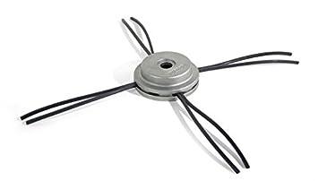 OREGON 110980 Universal aluminio fijo cortadora de cabeza con camiseta de manga corta para Nylium