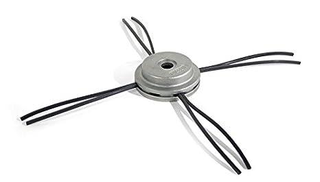 Amazon.com: Oregon 110980 aluminio fijo Trimmer Head ...