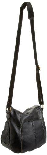 The SAK Deena Flap 105031 Cross Body,Black,One Size