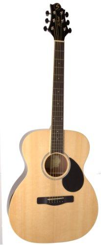 (Samick Music Regency OM2 Orchestra Body Acoustic Guitar, Natural)
