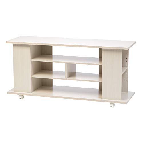 IRIS USA, Inc. 596501 TVS-119R TV Stand White
