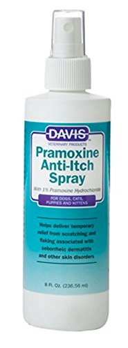 Davis Pramoxine Anti-Itch Dog and Cat Spray, 8-Ounce Pramoxine Anti Itch