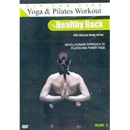 Yoga and Pilates Workout: Healthy Back