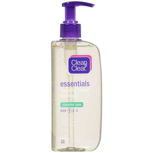 Price comparison product image Johnson & Johnson 003387 Clean & Clear Essentials Foaming Facial Cleanser, Sensitive Skin, 8 fl. oz. (Pack of 24)