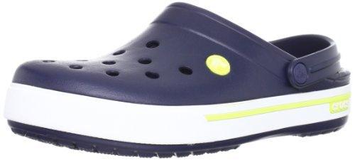 Crocs Crocband II.5 Clog Adult Shoes Sports Footwear - Navy/Citrus/Size M9/W11