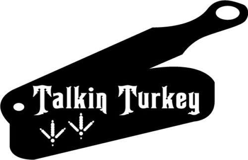 (Hunting Bird Talkin Turkey E109 Vinyl Decal Sticker Car Window Wall, Die cut vinyl decal for windows, cars, trucks, tool boxes, laptops, MacBook - virtually any hard, smooth surface)