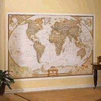 World Map Mural - 6