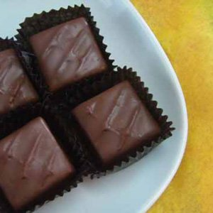 Caramels Covered in Milk Chocolate in a 24 Piece Gift Box by Sweet Mona's Chocolates