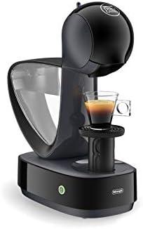 De'Longhi EDG160.A Nescafé Dolce Gusto Infinissima Macchina per caffè Espresso e Altre Bevande, 1470 W, 1.2 Litri, Termoblocco in Alluminio Vaschetta raccogligocce in plastica, Nero