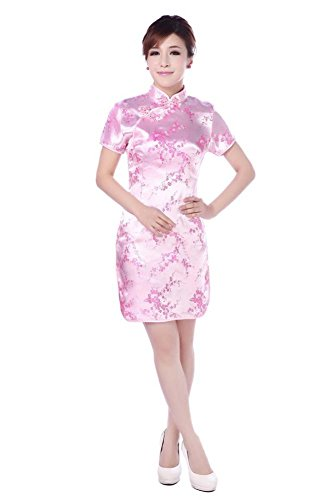 AvaCostume Womens Gorgeous Brocade Knee length