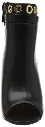 Classiques Doublée longueur 62 Noir Des noir Demi Sh015e Pu Froid Schwarz Bottes Femmes 98 P1735a Buffle gUaqRa