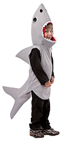 Sand Shark Toddler Costumes (UHC Boy's Sand Shark Outfit Funny Theme Party Toddler Child Halloween Costume, Toddler (3-4T))