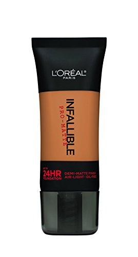 L'Oréal Paris Infallible Pro-Matte Foundation, Soft Sable, 1 fl. (Pro Sable Makeup Brush)
