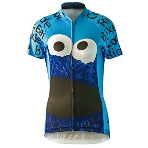 Brainstorm Cookie Monster Sesame Street Cycling Jersey (W...