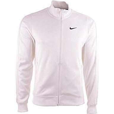 Mens Field Nike Jacket (Nike N 98 Team Jacket Mens White - XXL)