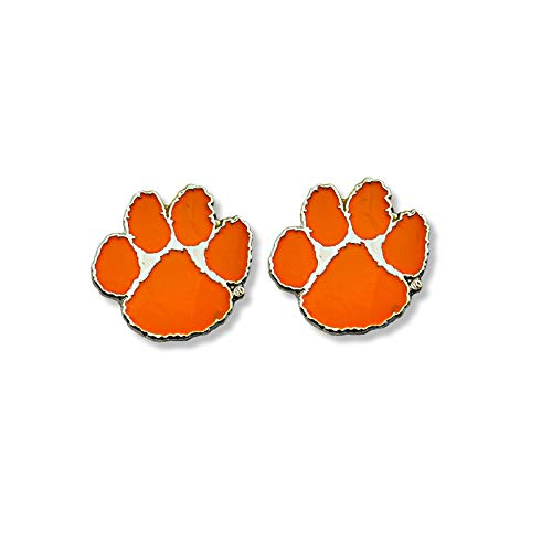 NCAA Clemson Tigers Team Post Earrings