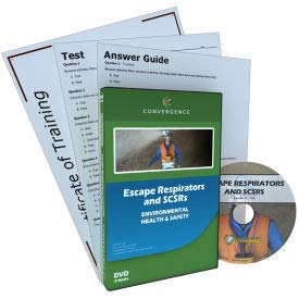 Convergence Training Escape Respirators and SCSRs, C-904, English, DVD (C-904)