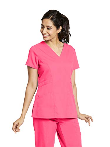 Grey's Anatomy 41452 V-Neck Top Pink Pop M ()