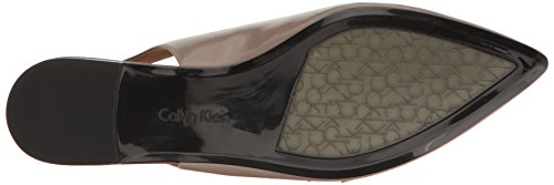 Calvin Klein Women's Genevieve Mary Jane Flat, Winter Taupe Taupe