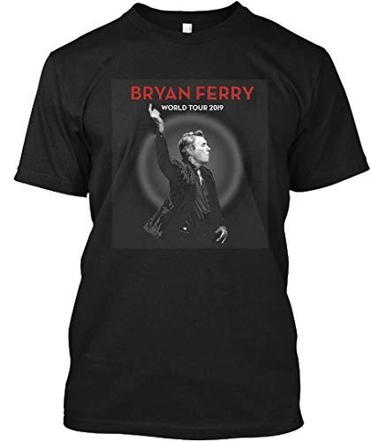 Bryan Ferry Tour 2019 Abuabu 3 Tee|T-Shirt Black