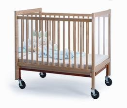 Infant Crib with Mirror End by Whitney Brothers