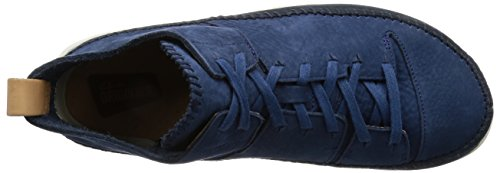 Clarks Originals Mens Trigenic Flex Nubuck Leather Shoes Nightblue