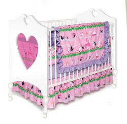 Room Magic 4 Piece Crib Set, Poodles in -