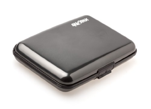 SHARKK® Aluminum Wallet Credit Card Holder With RFID Protection Made By SHARKK Brands