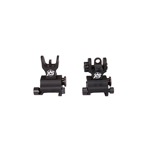 (XS Sight Systems AR-3001-7 Flip-Up Sights with Csat & Tritium Stripe)