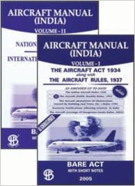 Buy aircraft manual (india) vol i ii book online at low prices.