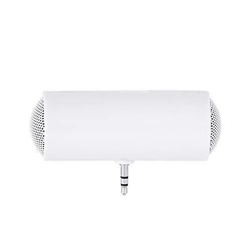 Flymylion 高音質ミニ ポータブルスピーカー スマホスピーカー PCスピーカー USB充電 サブウーファ 3.5 MM Auxオーディオジャックラップトップ/タブレットPC/スマートフォン
