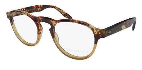 Barton Perreira Flaneur Mens/Womens Designer Full-rim High-class Gorgeous Eyeglasses/Glasses (48-22-145, Brown ()