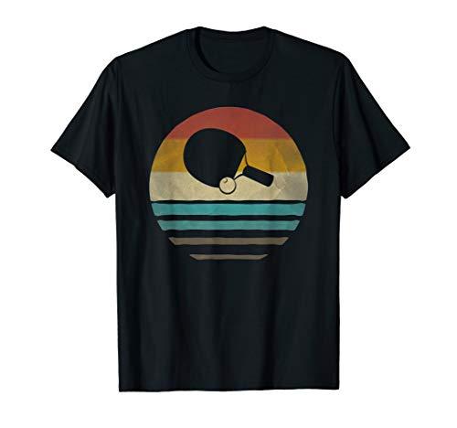 Table Tennis Shirt Retro Vintage Silhouette Distressed -
