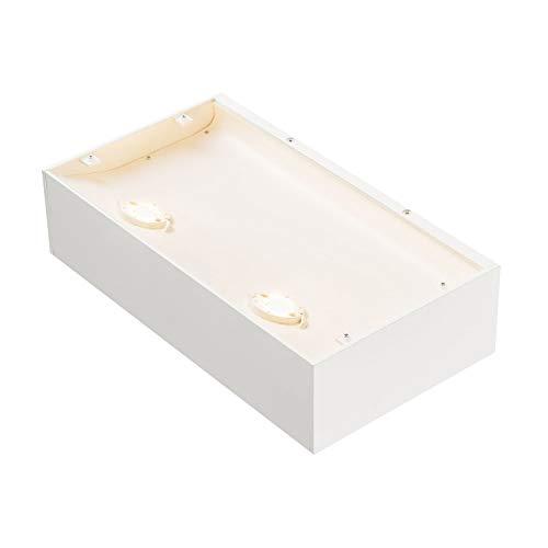 SLV Shell 30, WL, lámpara LED Indoor lámpara de pared, 3000 K, color blanco, Aluminio, 54 W