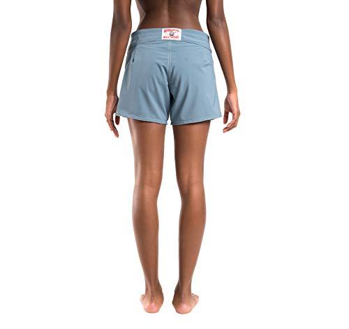 Birdwell Women's Stretch Board Shorts - Long Length (Light Blue, 10) by Birdwell Beach Britches (Image #4)