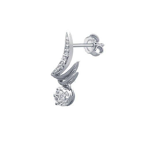 Giantti 14carats Diamant Pendentif Femme Collier (0.249CT, VS/Si-clarity, Gh-colour)