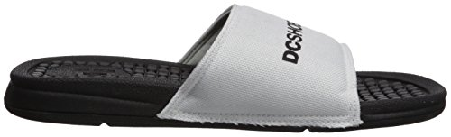 DC Women's Bolsa Sp Slide Sandal, Light Blue White/Black