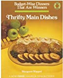 Thrifty Main Dishes, Margaret Happel, 0884210901